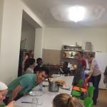 Gemeinsam Kochen in den Refugio-WGs
